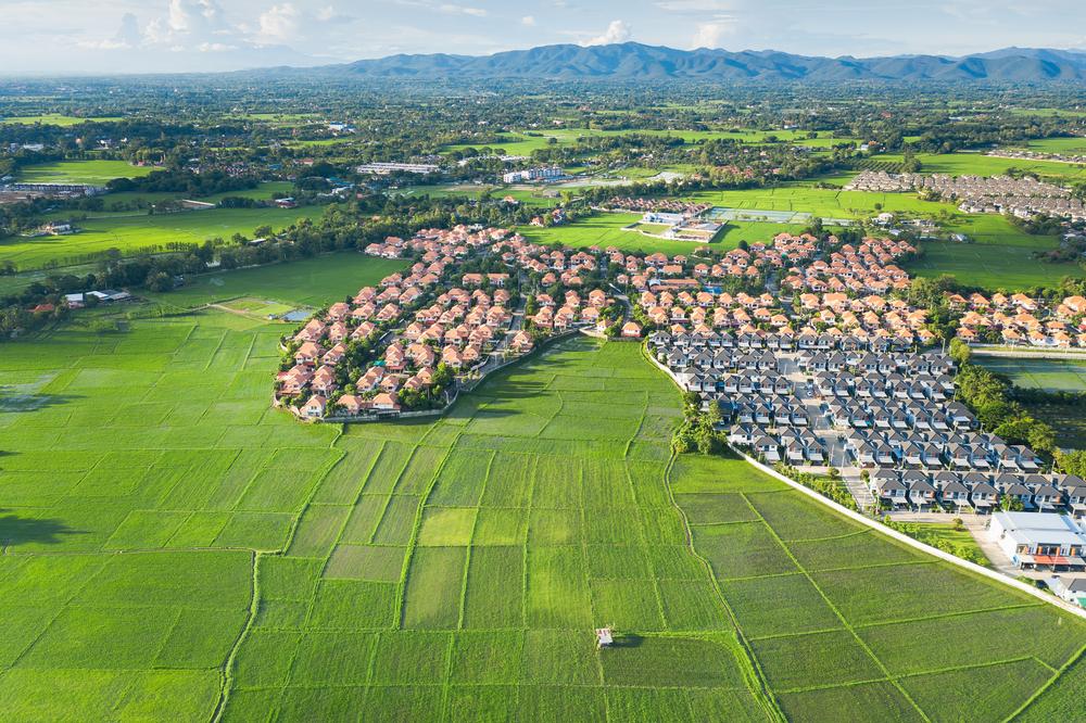 Immobilienmakler für die Stadt